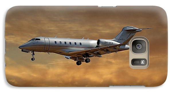 Jet Galaxy S7 Case - Vista Jet Bombardier Challenger 300 2 by Smart Aviation
