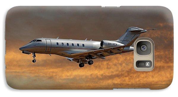 Jet Galaxy S7 Case - Vista Jet Bombardier Challenger 300 3 by Smart Aviation