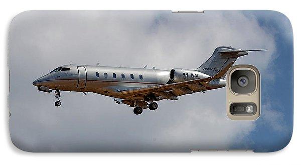 Jet Galaxy S7 Case - Vista Jet Bombardier Challenger 300 5 by Smart Aviation