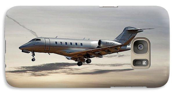 Jet Galaxy S7 Case - Vista Jet Bombardier Challenger 300 by Smart Aviation