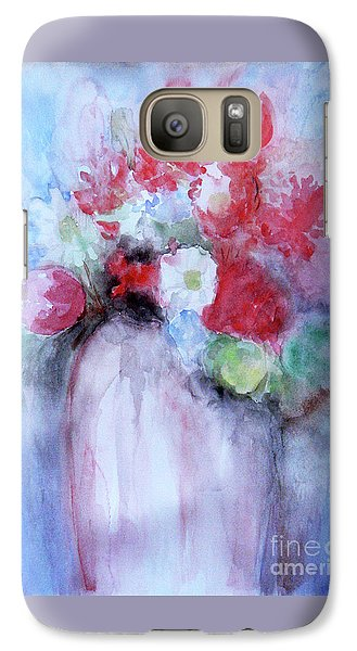 Galaxy Case featuring the painting Vitality Still Life by Jasna Dragun