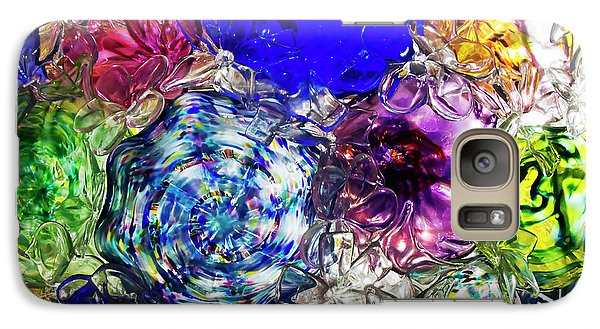 Galaxy Case featuring the photograph Vitreous Flora by Gary Holmes