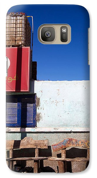 Galaxy Case featuring the photograph Vodalag by Jez C Self