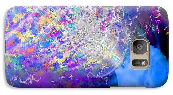 Galaxy Case featuring the painting Voice by Robby Donaghey