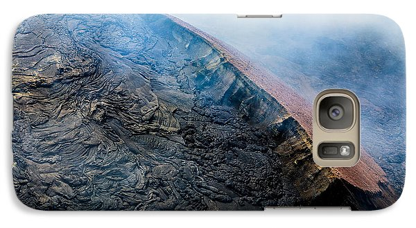 Galaxy Case featuring the photograph Volcanic Ridge by M G Whittingham