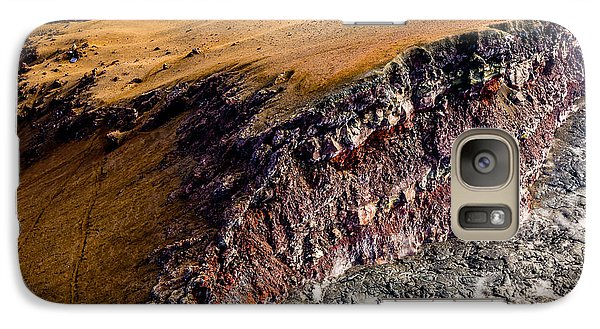 Galaxy Case featuring the photograph Volcanic Ridge II by M G Whittingham