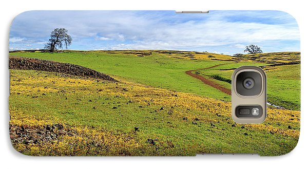 Galaxy Case featuring the photograph Volcanic Spring by James Eddy