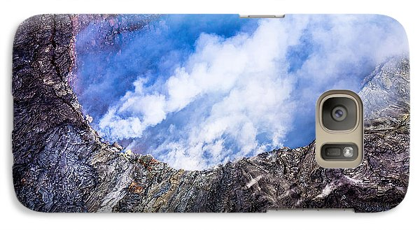 Galaxy Case featuring the photograph Volcano by M G Whittingham