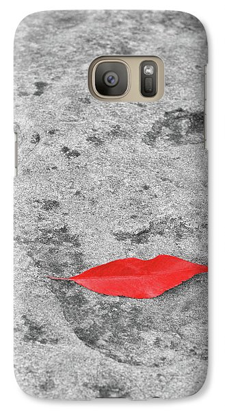 Galaxy Case featuring the photograph Voluminous Lips by Dale Kincaid