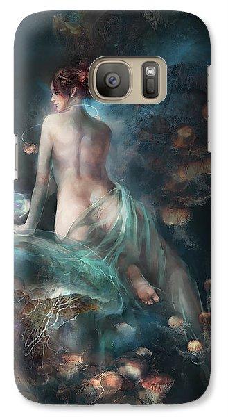 Galaxy Case featuring the digital art Voyage by Te Hu