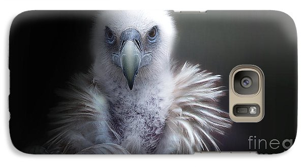 Galaxy Case featuring the photograph Vulture 2 by Christine Sponchia