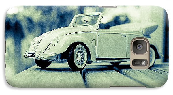 Vw Beetle Convertible Galaxy S7 Case by Jon Woodhams