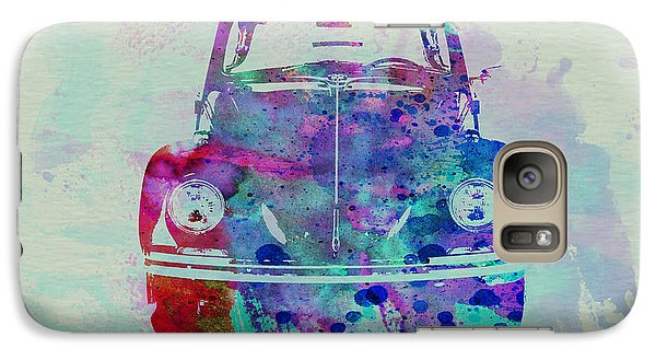 Beetle Galaxy S7 Case - Vw Beetle Watercolor 2 by Naxart Studio