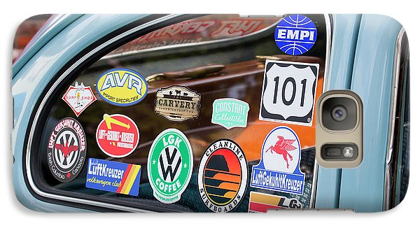 Galaxy Case featuring the photograph Vw Club by Chris Dutton
