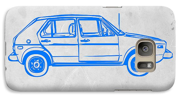 Beetle Galaxy S7 Case - Vw Golf by Naxart Studio
