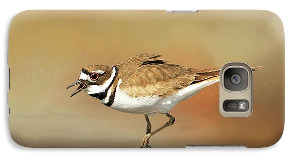 Wading Killdeer Galaxy S7 Case by Donna Kennedy
