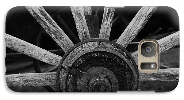 Galaxy Case featuring the photograph Wagon Wheel by Eric Liller
