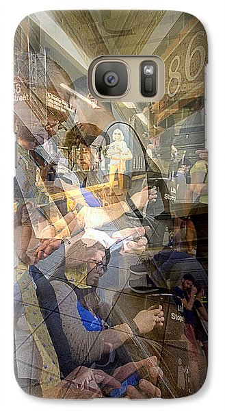 Waiting For 6 Train Collage Galaxy S7 Case