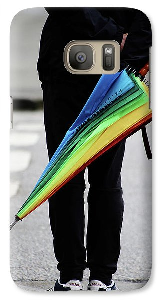 Galaxy Case featuring the photograph Waiting For Superman  by Empty Wall