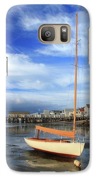 Galaxy Case featuring the photograph Waiting For The Tide by Roupen  Baker