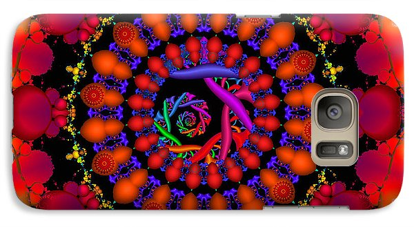 Galaxy Case featuring the digital art Wake by Robert Orinski