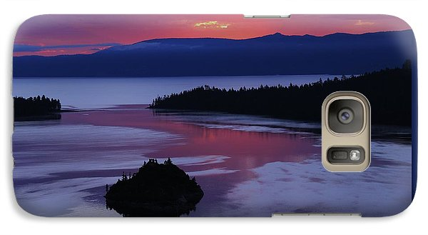 Galaxy Case featuring the photograph Wake Up In Lake Tahoe  by Sean Sarsfield
