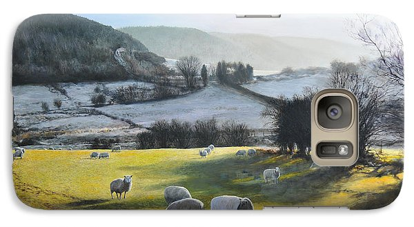 Galaxy Case featuring the painting Wales. by Harry Robertson