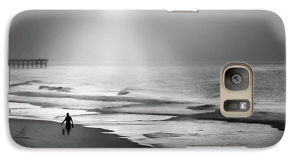 Galaxy Case featuring the photograph Walk Beneath The Moon by Karen Wiles