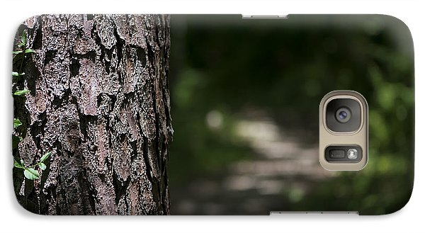 Galaxy Case featuring the photograph Walk In The Woods by Andrea Silies