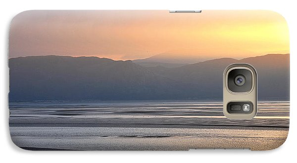 Galaxy Case featuring the photograph Walk On The Beach by Harry Robertson