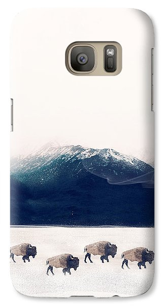 Galaxy Case featuring the painting Walk The Line by Bri B