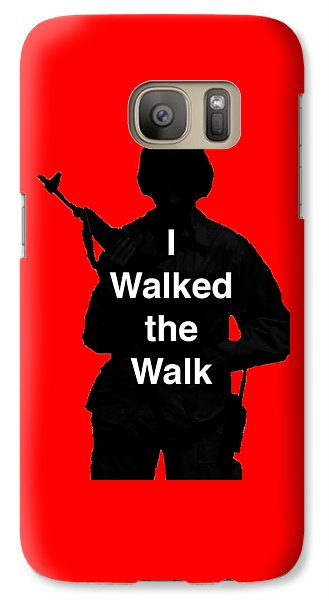 Galaxy Case featuring the photograph Walk The Walk by Melany Sarafis