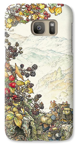 Walk To The High Hills Galaxy S7 Case