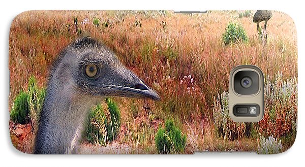 Walkabout Galaxy Case by Holly Kempe