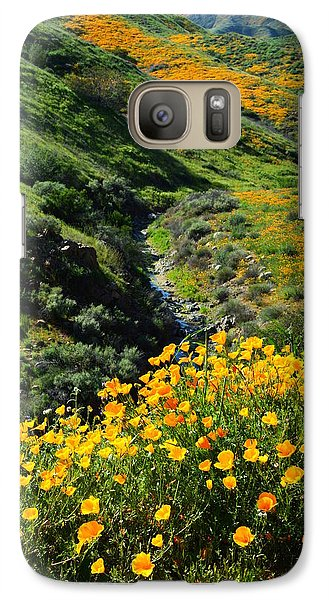 Galaxy Case featuring the photograph Walker Canyon Vista by Glenn McCarthy Art and Photography