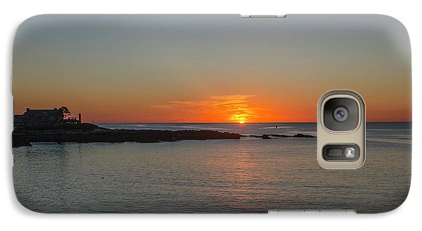 George Bush Galaxy S7 Case - Walkers Point Kennebunkport Maine by Bill Cannon