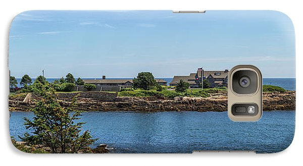 Walkers Point Kennebunkport Maine Galaxy Case by Brian MacLean