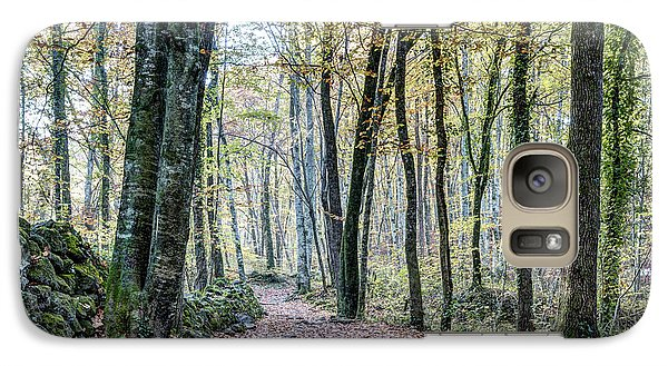 Walking Into Jordan Beech Wood, Catalonia Galaxy S7 Case