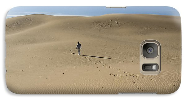 Galaxy Case featuring the photograph Walking On The Sand by Tara Lynn