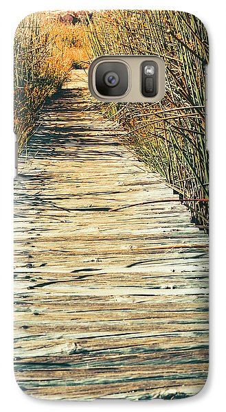 Galaxy Case featuring the photograph Walking Path by Alexey Stiop