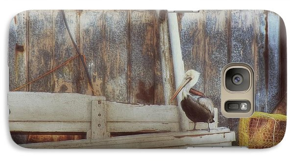 Galaxy Case featuring the photograph Walking The Plank by Benanne Stiens