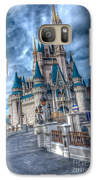 Walkway To Cinderellas Castle Galaxy S7 Case