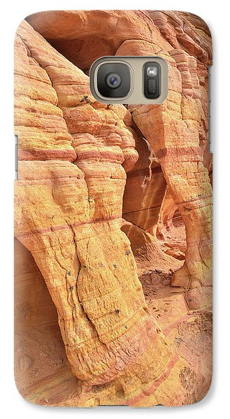 Galaxy Case featuring the photograph Wall Arches In North Valley Of Fire by Ray Mathis