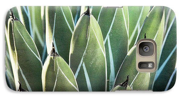 Galaxy Case featuring the photograph Wall Of Agave  by Saija Lehtonen