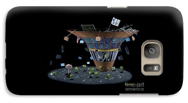 Martini Galaxy S7 Case - Wall St Martini by Michael Godard