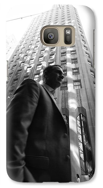 Wall Street Man II Galaxy S7 Case