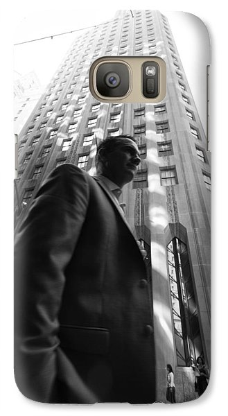 Wall Street Man II Galaxy S7 Case by Dave Beckerman