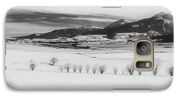 Galaxy Case featuring the photograph Wallowa Mountains by Cat Connor