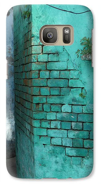 Galaxy Case featuring the photograph Walls by Jean luc Comperat