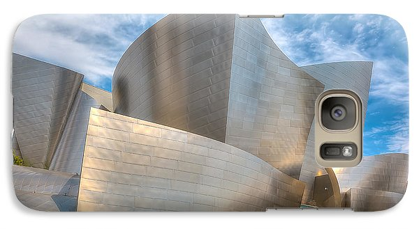 Galaxy Case featuring the photograph Walt Disney Concert Hall - Los Angeles by Jim Carrell